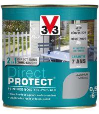 Peinture Multi-supports Direct Protect 0.5L Aluminium Métallisé - V33