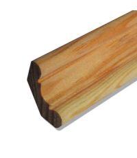 Corniche classique pin 2400 x 28 x 28 mm