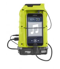Radio AM/FM Bluetooth 18 volts ONE+ (Sans batterie) - RYOBI