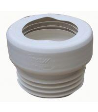Sortie de cuvette wc droite à lèvres - WIRQUIN