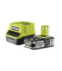 Pack chargeur rapide 2,0 A + 1 Batterie 18V - RYOBI