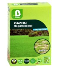 Gazon regarnissage d'entretien boîte semoir 500g - B GREEN