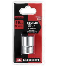"""Douille 1/2"""" 12 pans 13 mm - FACOM"""
