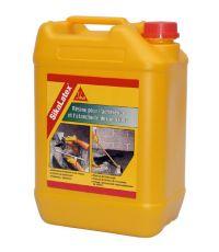 Resine pour l'adherence et l etancheite des mortiers SIKALATEX 5 L