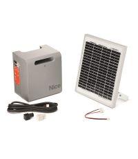 Kit solaire pour automatisme d'ouvre portail - NICE HOME