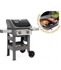 Barbecue gaz Spirit II E-210 Gas Grill + plancha - WEBER