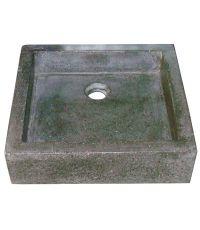 Vasque timbre gris anthracite 40 x 40cm - LT AQUA+